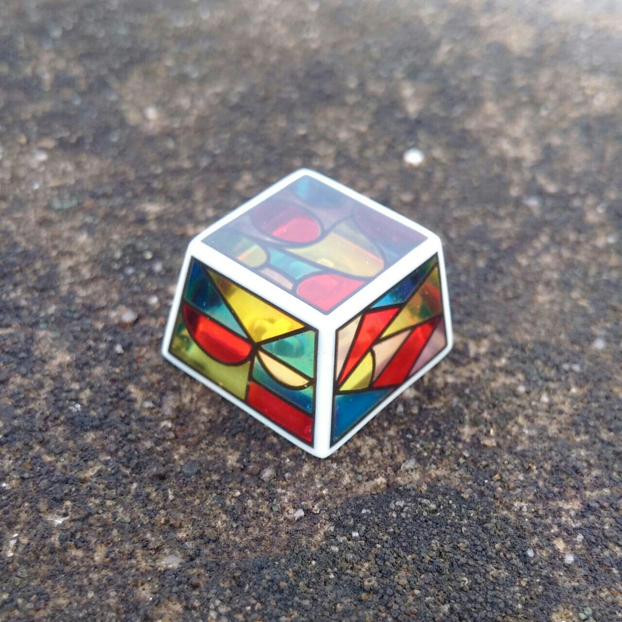 STAINED KEYCAP B - MX